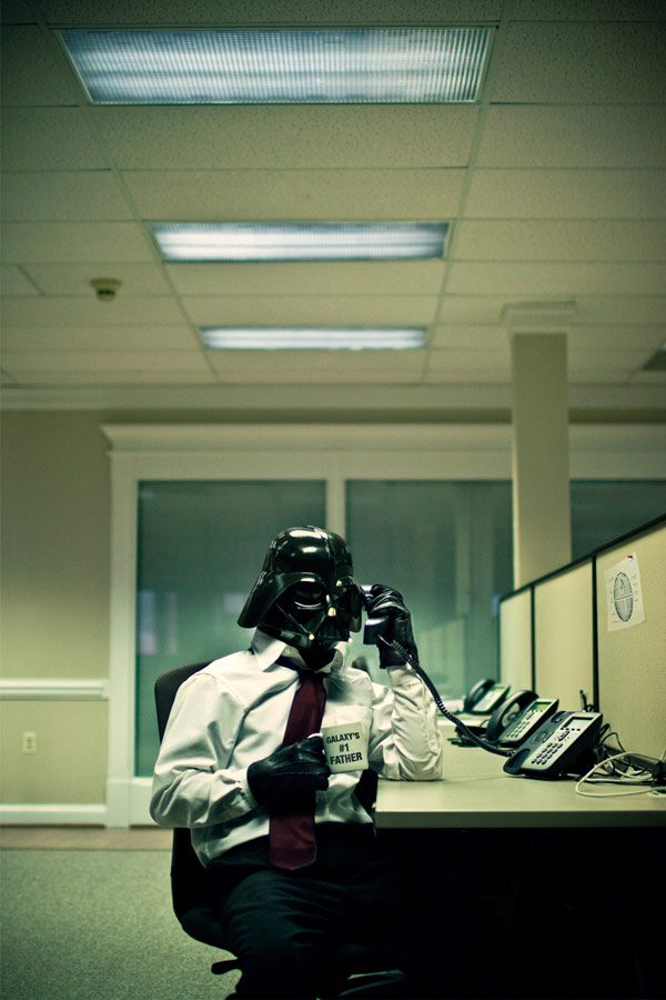 Jim Alley Darth Vader Office