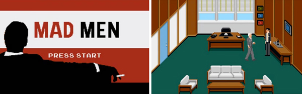 interactive mad men game