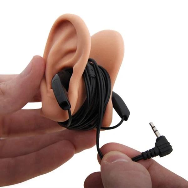 earphone fake ear tidy cord