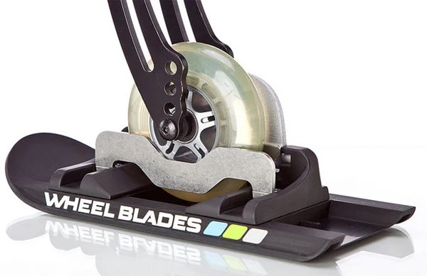wheelchair wheelblades mobility snow ice