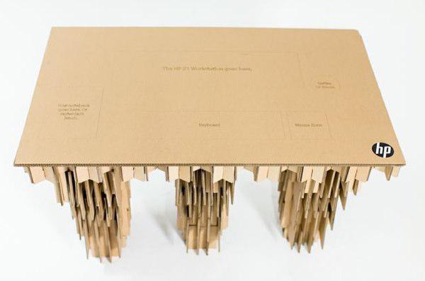 goodstuph cardboard desk hp z1