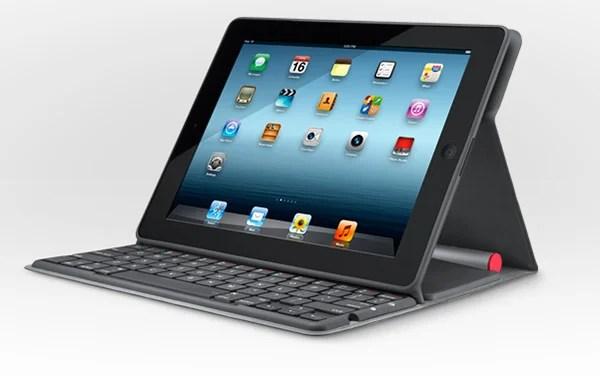 logitech solar keyboard case