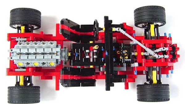 Sweet LEGO Supercar Has Working Five Speed Transmission   Technabob Apparently  the car started on paper with a rough sketch of what he wanted  to create  The builder then decided on the wheels you wanted to use for his