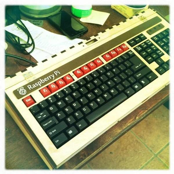 raspberry pi ben heck keyboard micro computer