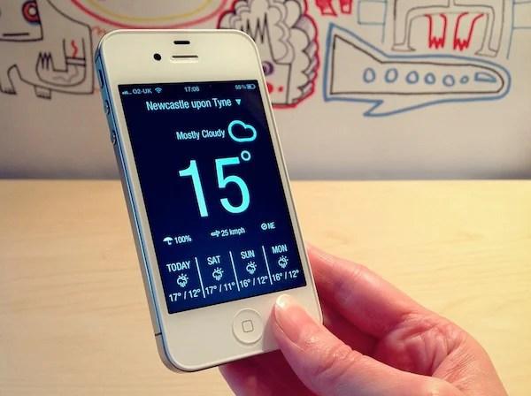 weather neue app ios