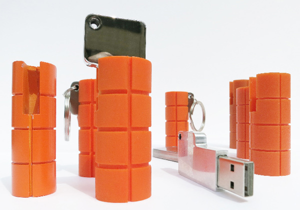 lacie ruggedkey neil poulton usb flash drive prototypes