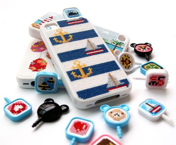 stipin diy stitch leese design iphone case
