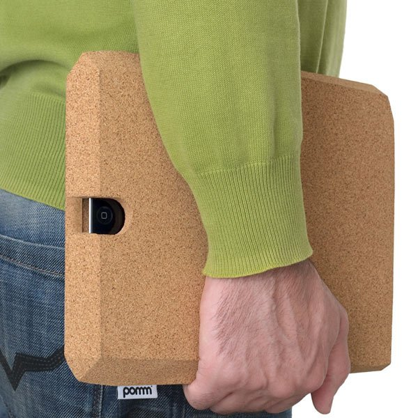 ipadcorkcase pomm ipad cork carry