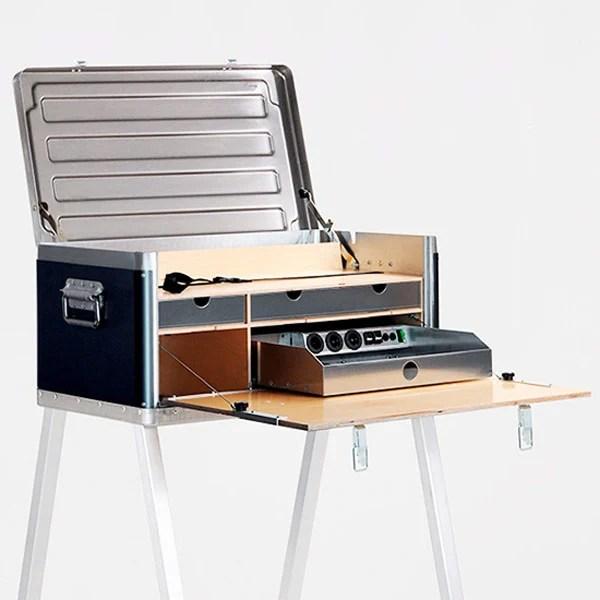 kanz power desk remote satellite
