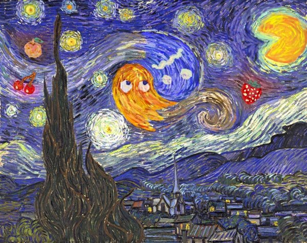 starry night at the arcade noah gibbs