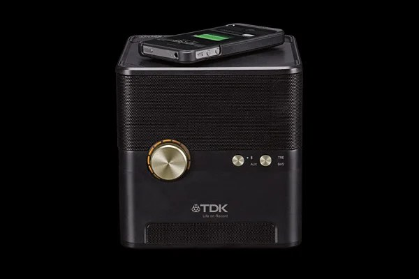 tdk charging speaker wireless bluetooth iphone