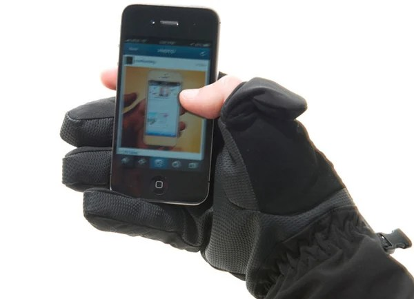 freehands iphone glove soft shell