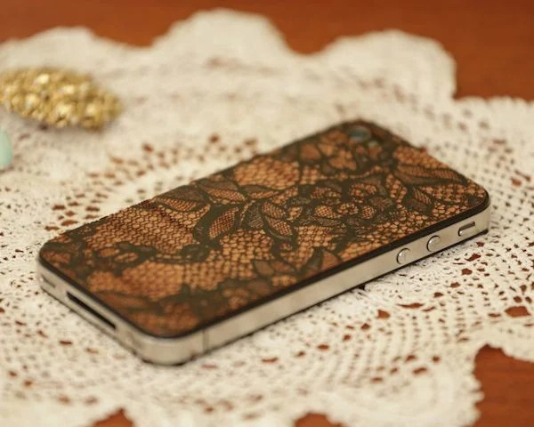 lace iphone cover lazerwood