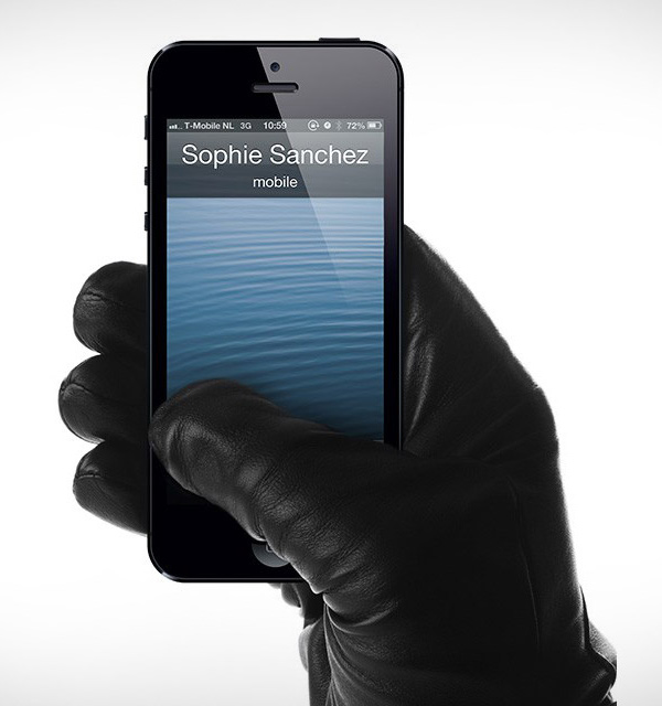leather touchscreen gloves mujjo
