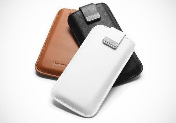 spigen leather pouch iphone