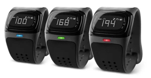mio alpha heart rate watch zones