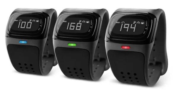 mio alpha heart rate watch zones