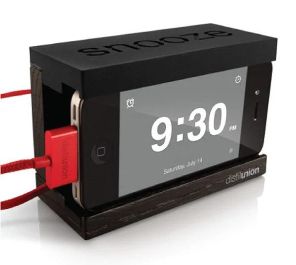 snooze wood dock black