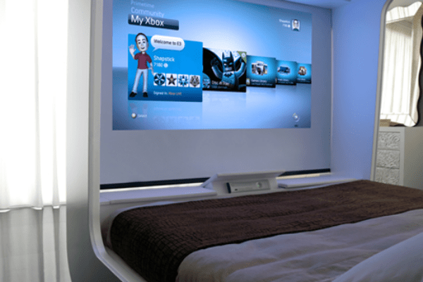 HiCan Gaming Bed You Can Sleep With Your Games Just Don