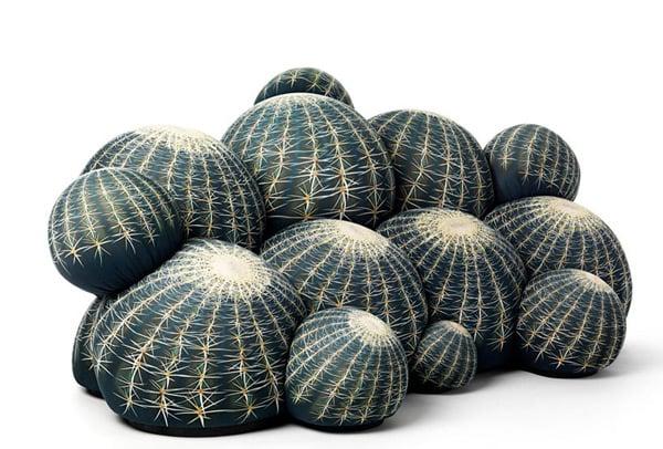 canape cactus sofa