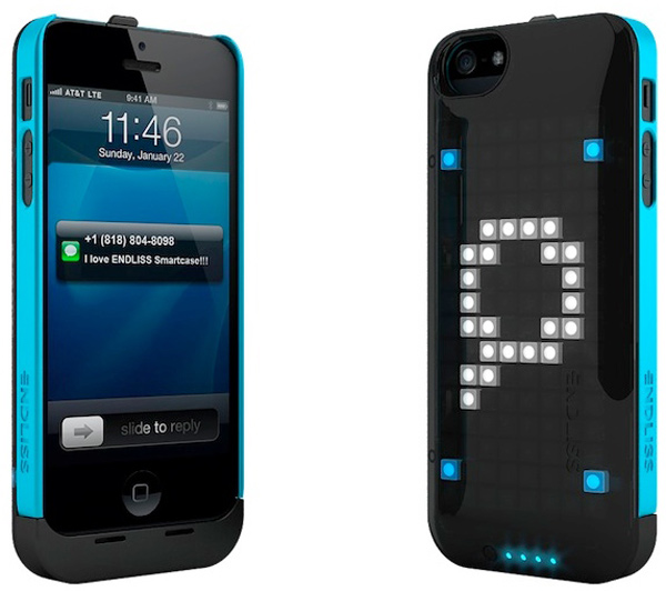 endless led case iphone