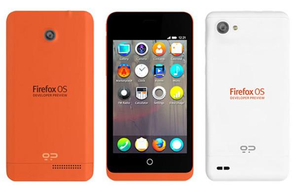 firefox os smartphone keon peak mozilla white