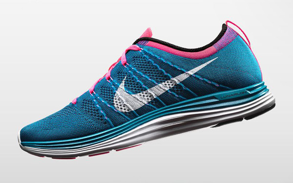 nike flyknit lunar one plus trainer shoe