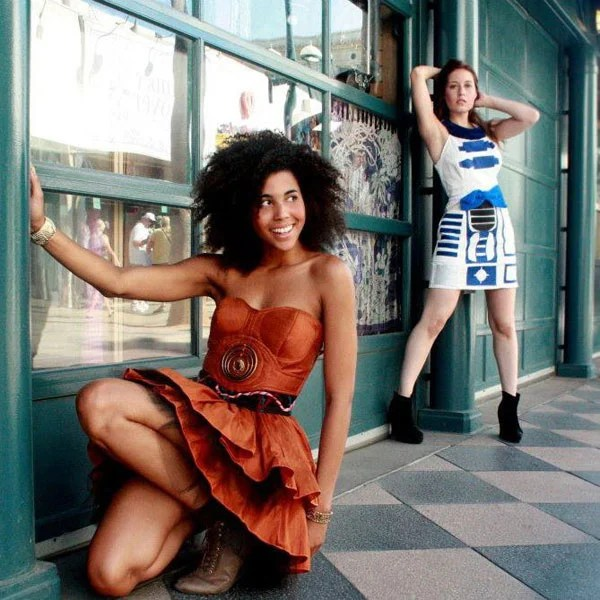 geekyu c 3p0 star wars dress