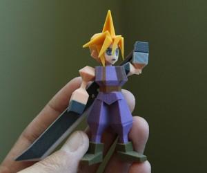 final fantasy vii 3d printed figurines by Joaquin Baldwin 2 300x250