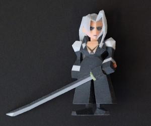 final fantasy vii 3d printed figurines by Joaquin Baldwin 4 300x250
