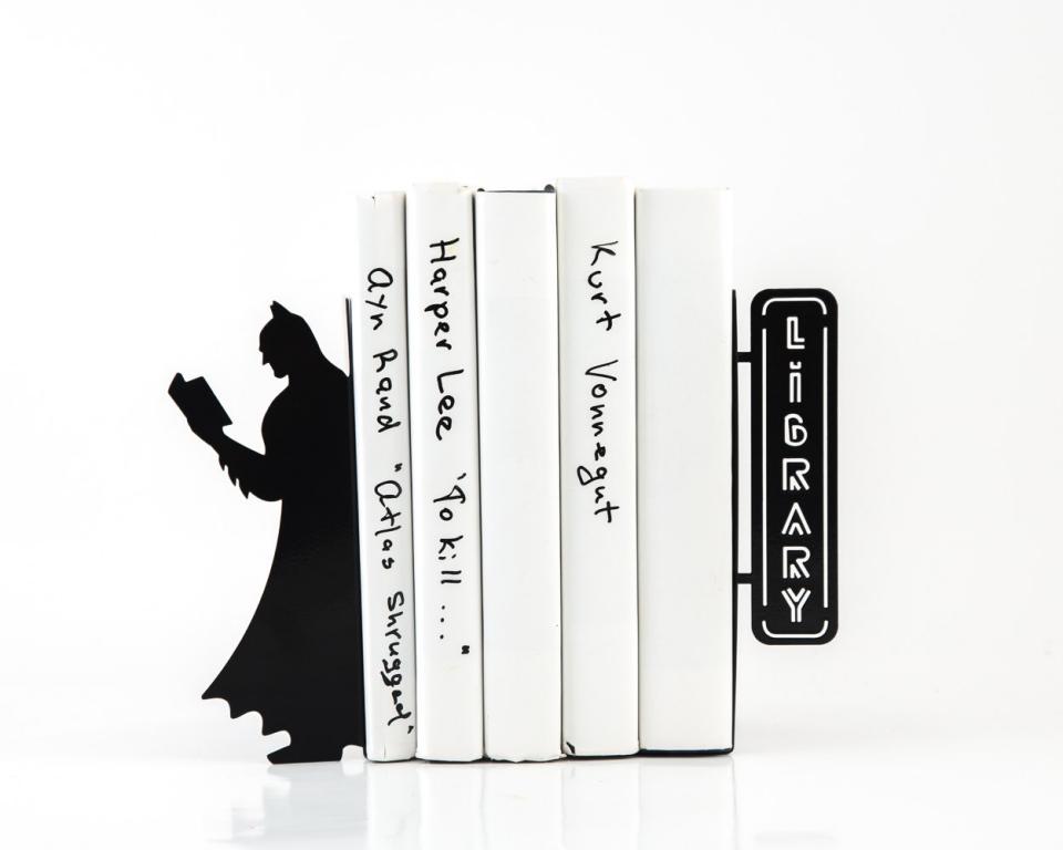 Batman Bookends Library Of Comics Technabob