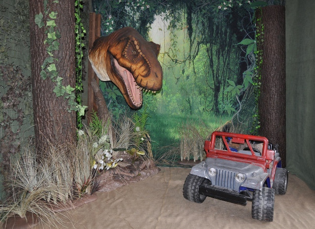 See our 20 favorite small bedrooms. Jurassic Park Themed Photography Set: Smile and Say