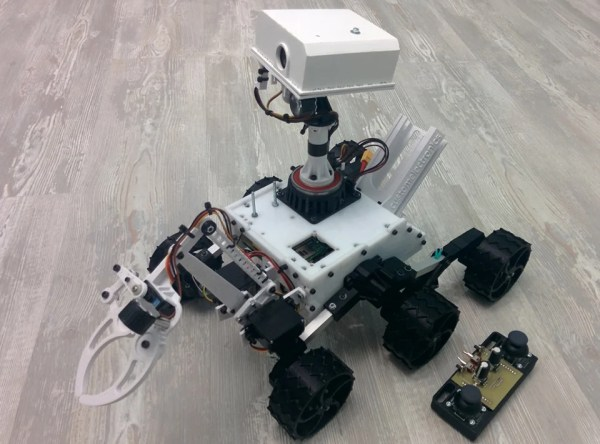 DIY RC Curiosity Rover is Ready to Explore Your Backyard