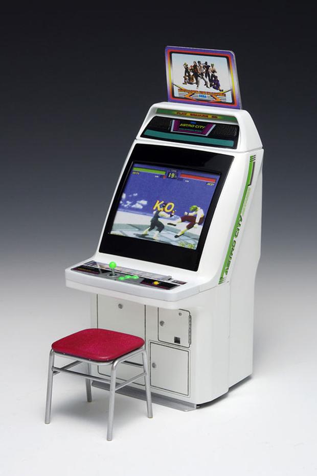 Wave Sega Astro City Arcade Machine 112 Scale Model