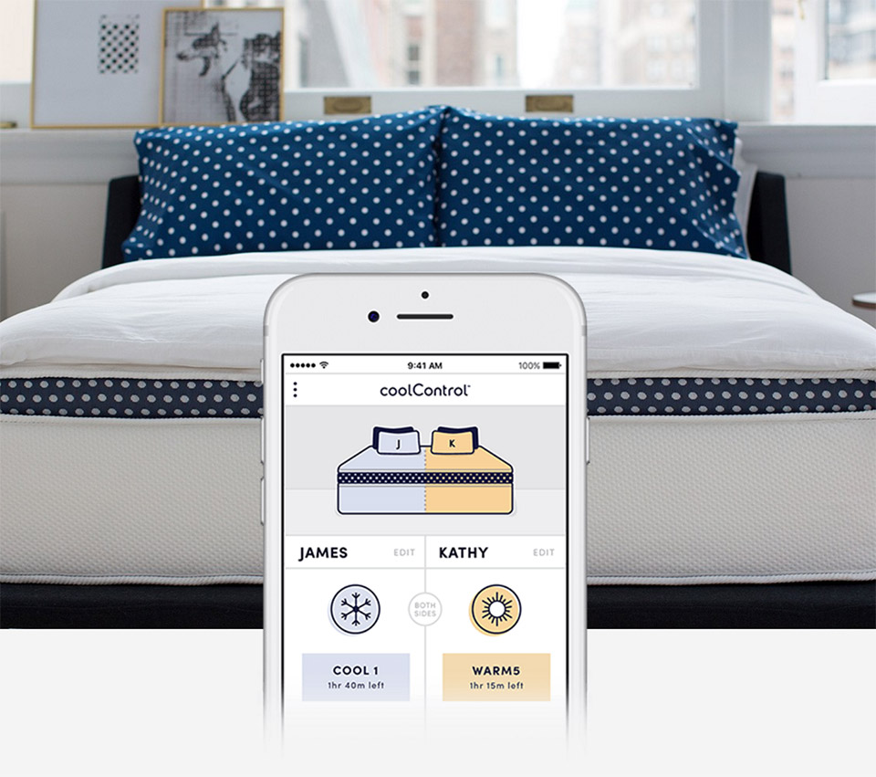 Winkbeds Coolcontrol Lets You Control The Temperature Of