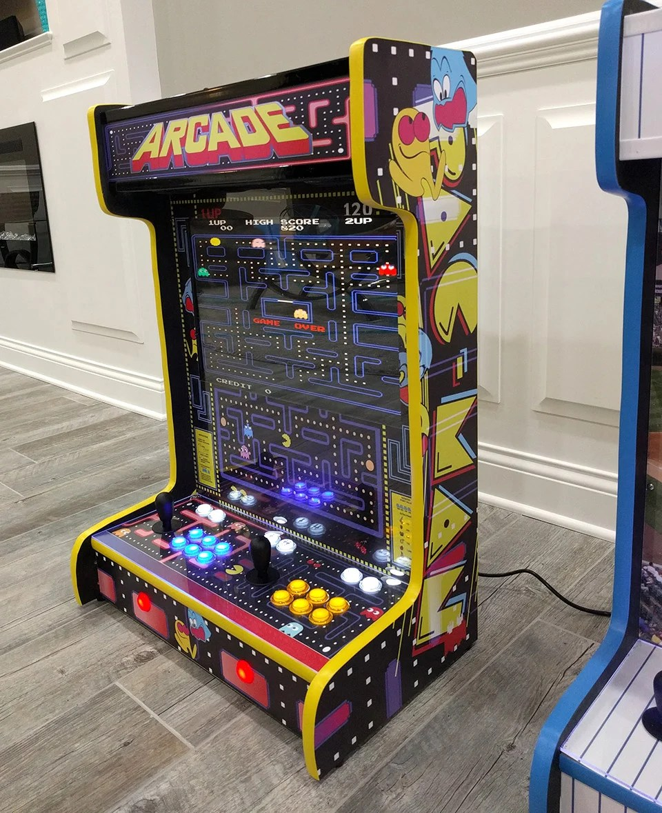 Some games are timeless for a reason. These Wall-Mounted Arcade Cabinets Save Quarters and Space