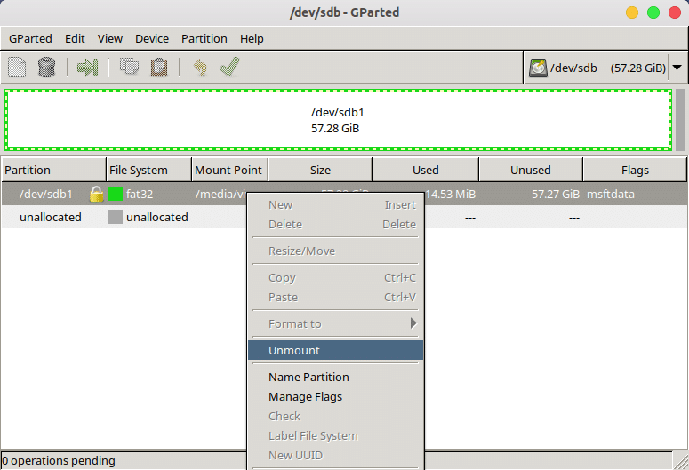 How to Create And Resize Partitions with GParted