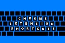 chrome extension shortcut