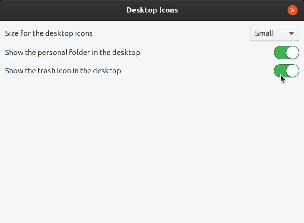 Desktop Icon size in Ubuntu