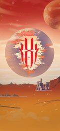 red magic 5g planet wallpaper