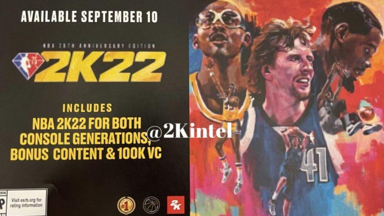 2K21 Nba 2K22 Release Date - Nba 2k22 Cover Release Date Leaked Technclub