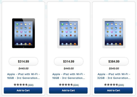 애플 아이패드 가격 대폭 인하
