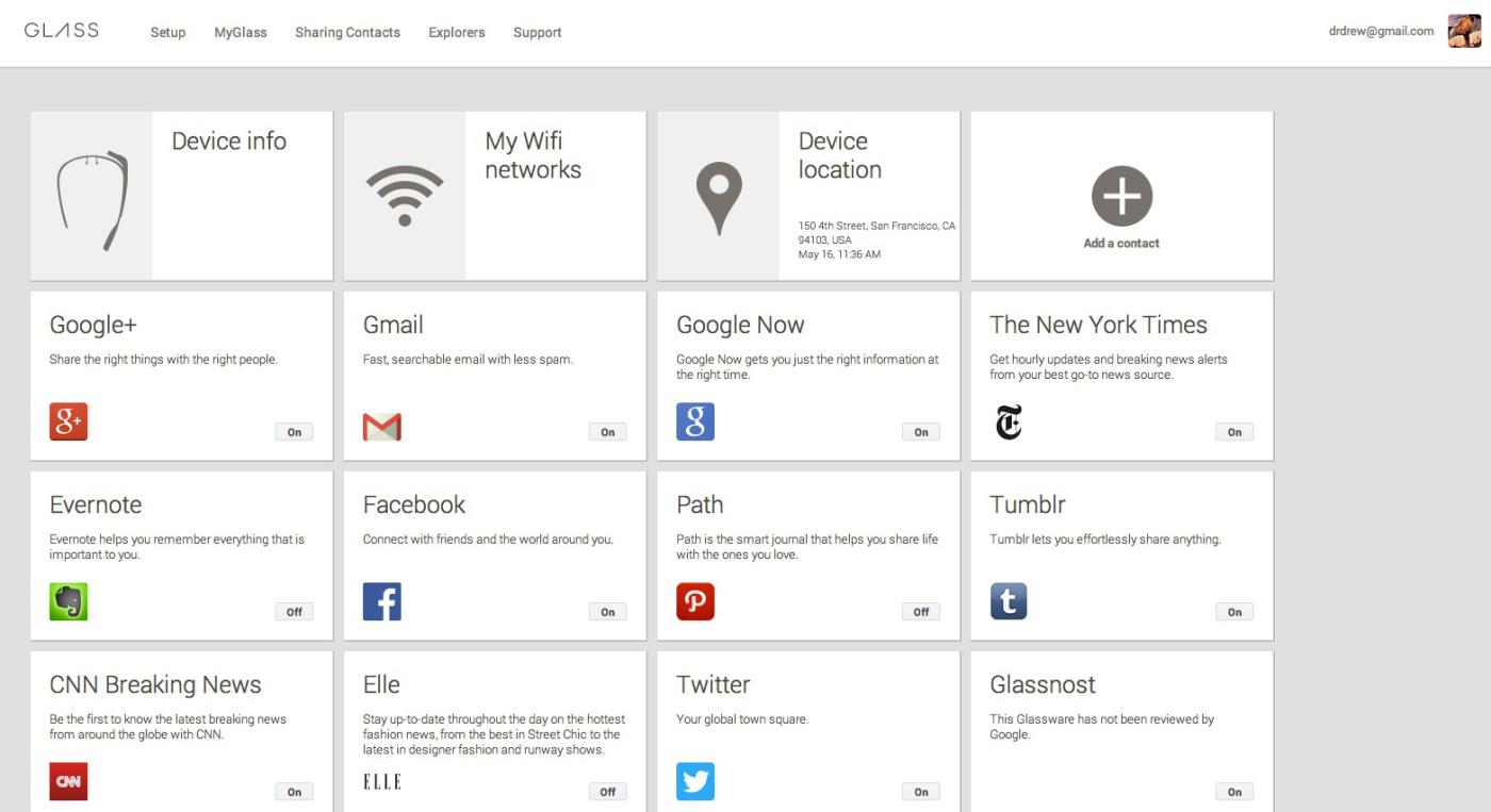 구글 글래스 앱들이 몰려온다