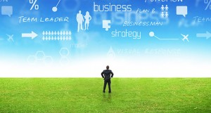 green-field-comtemplating-business-strategy
