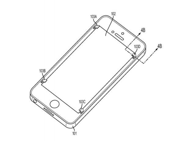 애플, 스마트폰이 떨어질 때 자동으로 스크린을 보호하는 장치 특허 신청