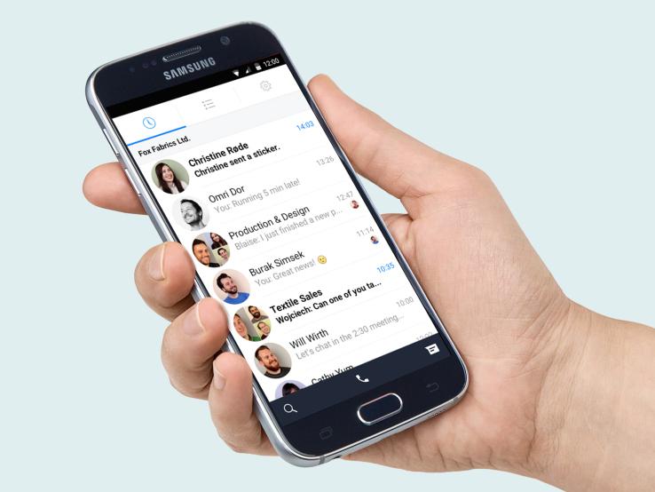 페이스북, 기업용 메신저 Work Chat 공개