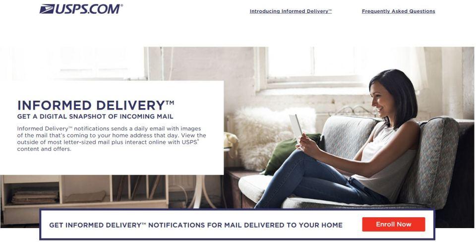 미국 우체국(USPS), 이메일 서비스 실시