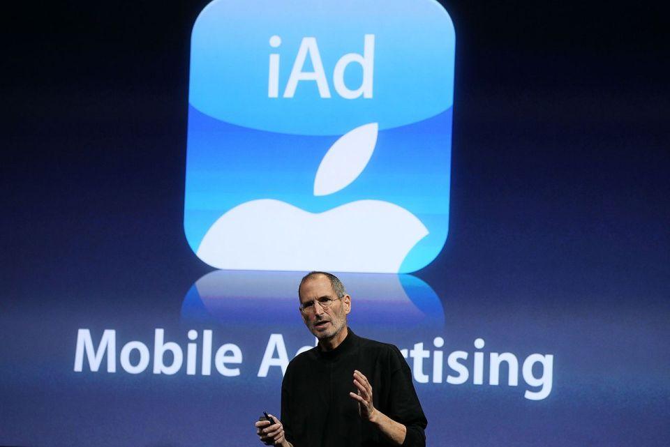 애플 모바일광고 iAd 서비스 중단
