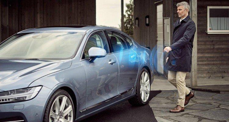 볼보, 스웨덴에서 '자동차 키 없는 자동차' 실험 시작