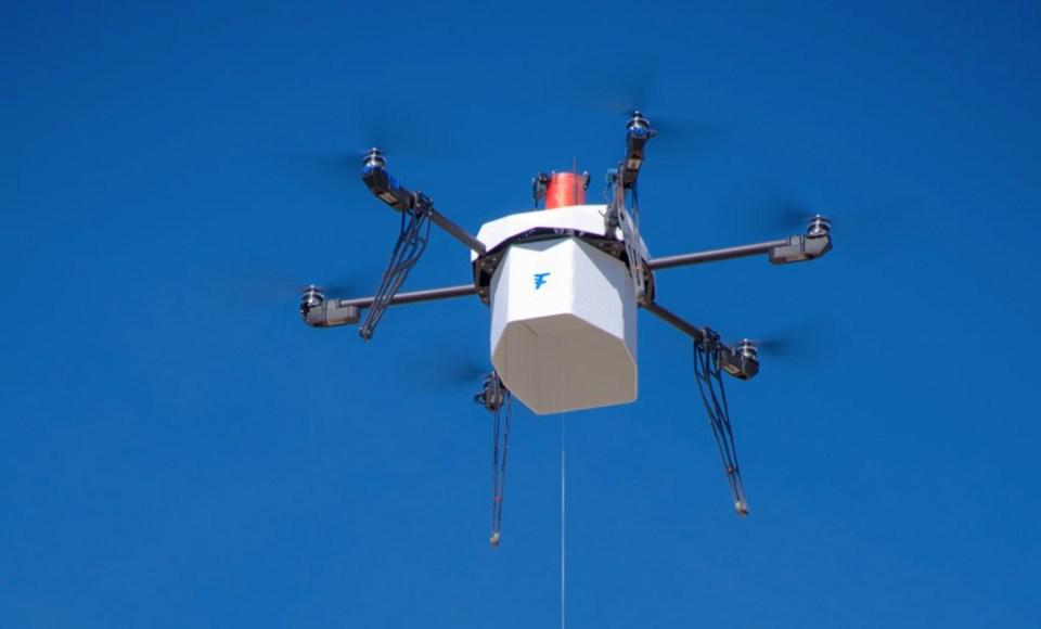 무인드론, 최초로 FAA 승인 도회지 비행 성공
